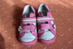 Демісезонні повністю шкіряні польські черевички DAWID, 30 р, устилка 19 см
