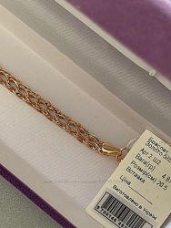 Стильные золотые браслеты.