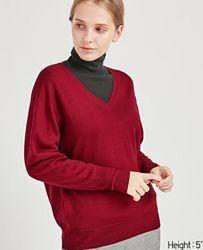 Uniqlo, свитер шерсть унисекс . Скидка.