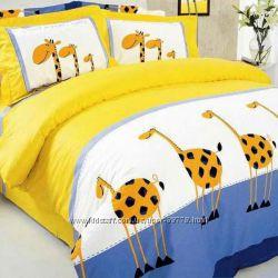 Постельное белье Жирафы ТЕП 604 полуторное и евро