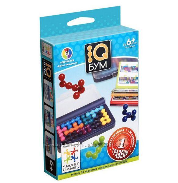 IQ игры для детей от Smart Games. IQ Блок, IQ- линк, IQ Бум