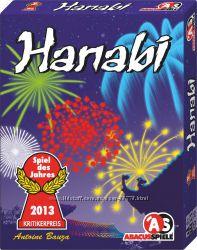 Настольная игра Hanabi Фейерверки, Ханаби- кооперативная игра