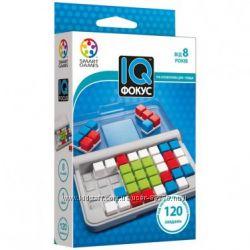 Дорожная игра IQ Фокус. SGT 422 UKR Smart Games