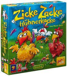 Настольная игра Цыплячьи бега,  Zicke Zacke Huhnerkacke оригинал Zoch