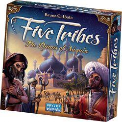 Настольная игра Five Tribes Пять каст, Пять племён