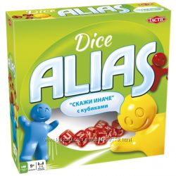 Игра ALIAS Dise, Алиас с кубиками, Элиас, Tactic оригинал