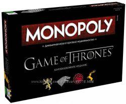 Монополия Игра Престолов коллекционное издание