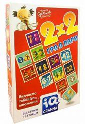 Игра в пары IQ 2Х2 Granna 81497