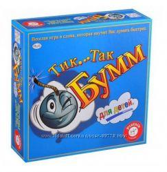 Тик Так Бум для детей с бомбочкой, игра настольная Тик Так Бумм