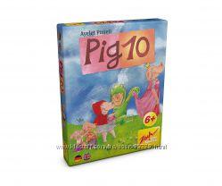 Настольная игра 10 свинок,  Pig 10 от Zoch - развитие устного счета. Оригина