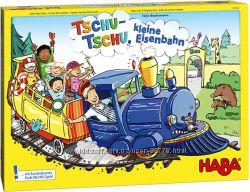 Настольная игра  Tschu-tschu Haba, железная дорога  Чу-чу от Хаба  H303736
