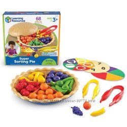 Ягодный пирог- игровой набор-сортер Super sorting pie Learning Resources