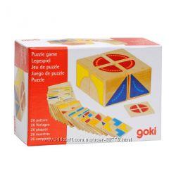Развивающая игра -головоломка Кубус Goki 58649G , кубики Гоки