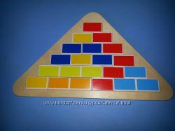 Игра- головоломка Сегмент Goki, гоки Треугольник  57924G