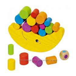 Балансир Луна Goki, балансирующая луна, Купить  ориигнал, игрушки из дерева