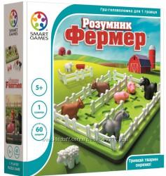 Игра на логику Розумник фермер. Умный фермер Smart Games  SG 091 UKR