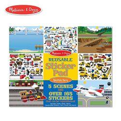 Многоразовые наклейки Melissa & Doug Reusable Sticker Pads