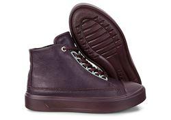 Кожаные ботинки ECCO FLEXURE T-CAP ZK3475 р. 38