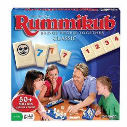 Настольная игра Руммикуб, Rummikub от Pressman