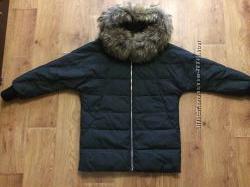 Куртка Италия теплая с натуральным мехом