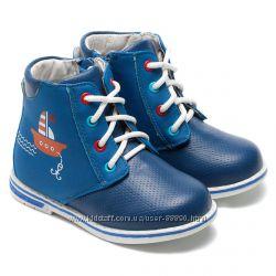 Демисезонные ботинки осенние Би Джи Little Deer для мальчика