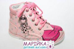Демисезонные ботинки  осенние для девочки Би джи Little Deer