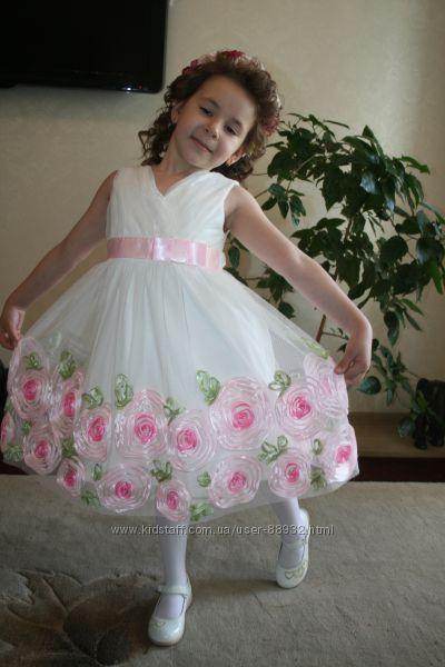 Роскошное платье на выпускной, фотосессию, свадьбу  из США