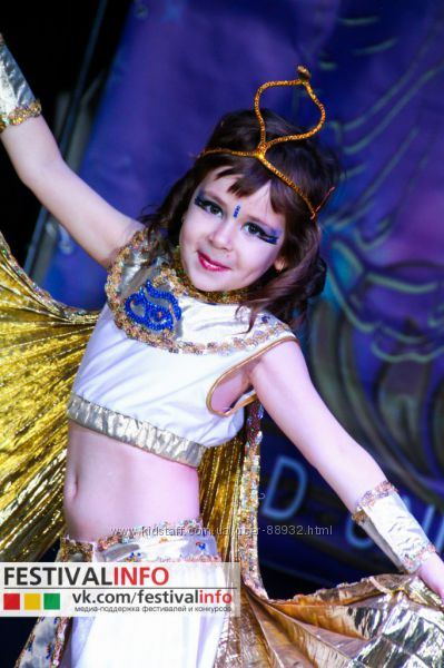 Египетский костюм для танцев или карнавала