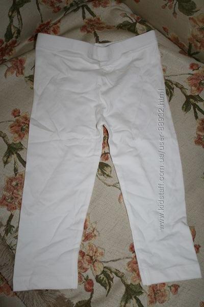 Белые лосины джордж на 5-6 лет