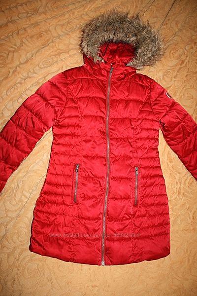 Зимнее пальто-куртка  Некст на р. 134 на 7-9 лет