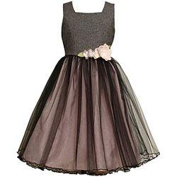 Изысканное платье из США фирмы Bonnie Jean на 6-8 лет