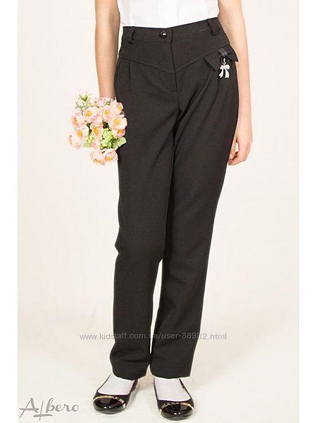 Черные школьные брюки Альберо р.140