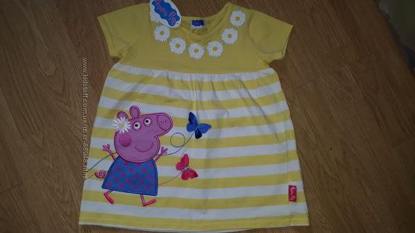 Платье Свинка Пеппа 4-5 лет
