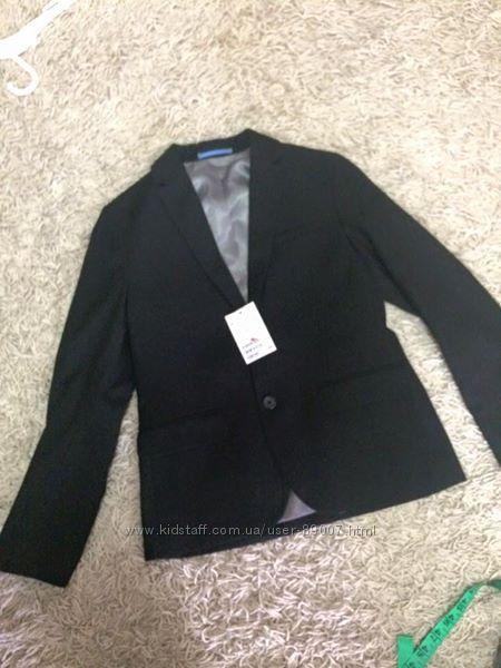 Классический пиджак H&M в размере 140 9-10 лет