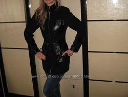 Шикарная  итальянская куртка . Натуральная замша  и кожа