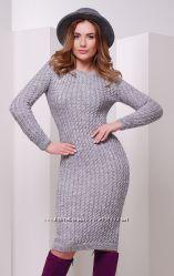качественные вязанные платья в наличии