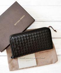Брендовые кожаные кошельки Chanel, Dior, Bottega Veneta