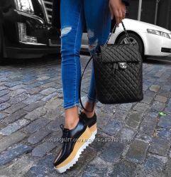 Кожаные рюкзаки Сhanel Backpack. В наличии. Хит продаж