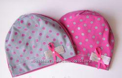 Детские трикотажные шапочки на теплую весеннюю и осеннюю погоду