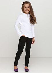 Брюки штаны для девочки в школу, на каждый день. 146 р. цвет черный