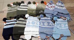Демисезонные шапочки мальчикам фирмы Konwar Польша 46, 48, 50, 52, 54, 56 р
