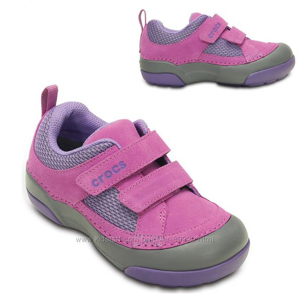 Акция минус 10. Распродажа кроссовки Crocs Wild Orchid Dawson Easy-On Shoe