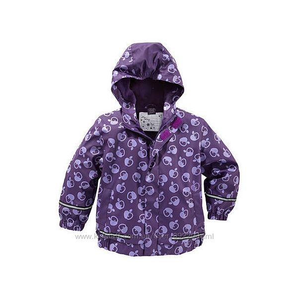 Акция минус 10. Куртка ветровка дождевик грязепруф р.116-122 на флисе
