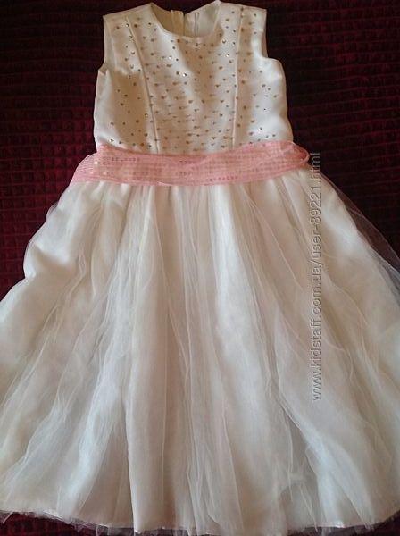 Шикарное нарядное, праздничное платье на принцессу