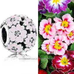 Шармы Цветы Pandora Оригинал серебро