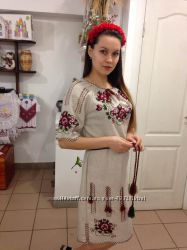 Вишиті сукні Льон ae0eb2f0466ae