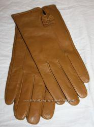 Варежки, перчатки из натуральной кожи и вязанные из Германии