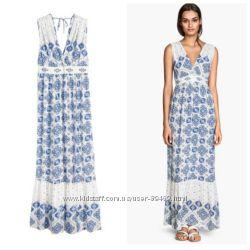 Платье длинное H&M, р.36евр