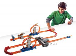 Meга-трек Hot Wheels  Двойное ускорение - Track Builder Total Turbo BGX89