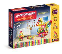 Магнитный конструктор Мой первый набор Magformers My First 54 Set 63108